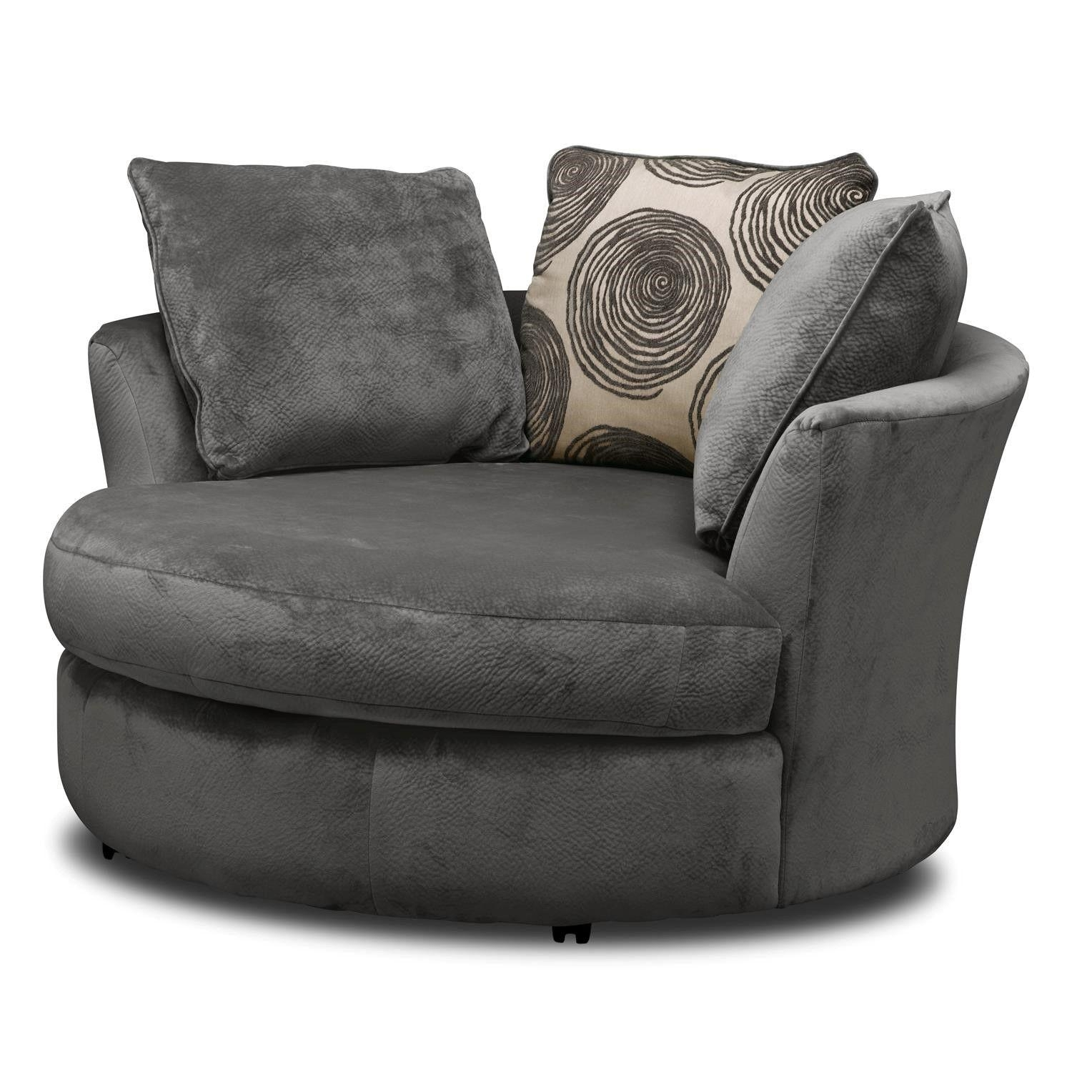 Lovely Swivel Sofa Chair 45 On Living Room Sofa Inspiration With Pertaining To Spinning Sofa Chairs (View 20 of 20)
