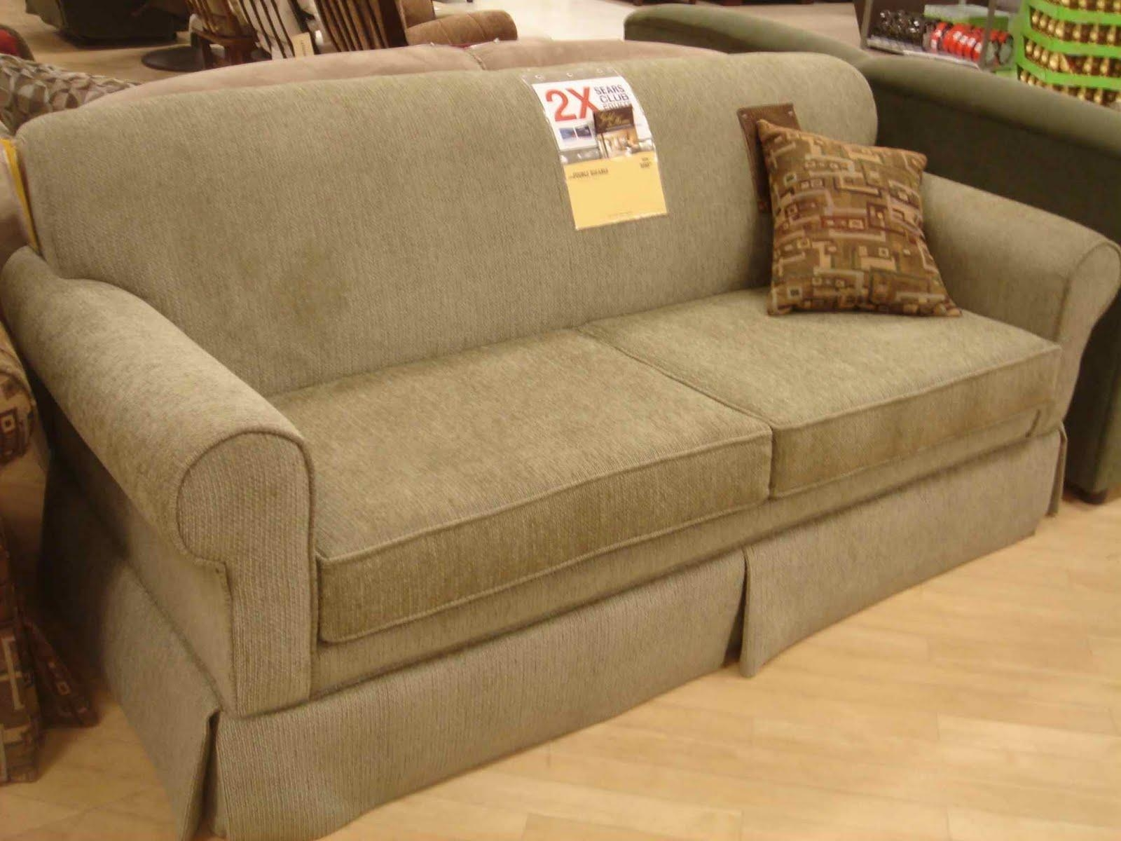 Loveseat Sleeper Sofa Sears | Tehranmix Decoration With Regard To Sears Sofa (View 13 of 20)