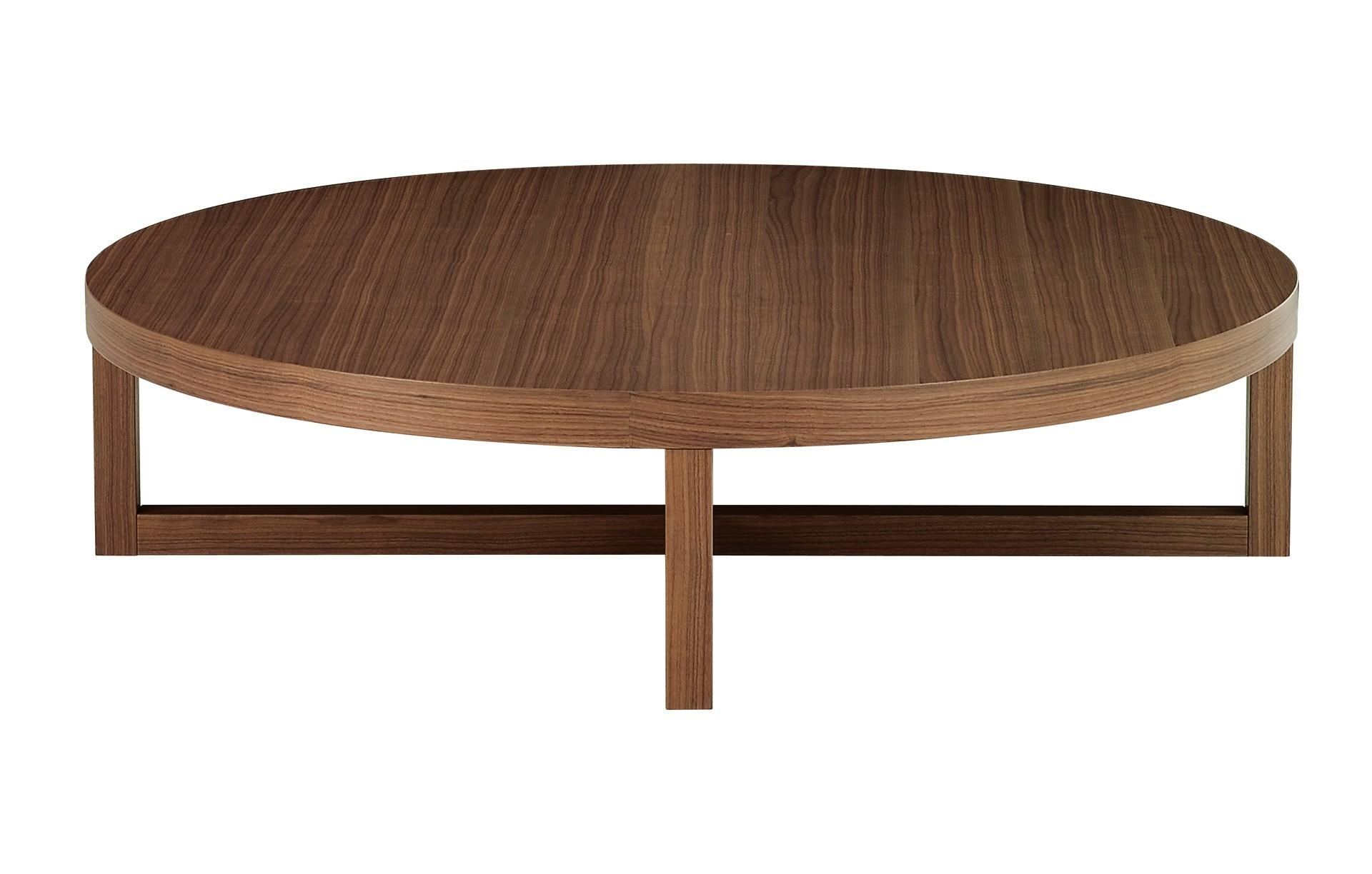 Low Round Coffee Table – Low Round Wood Coffee Table, Low Round With Regard To Low Sofa Tables (Image 9 of 20)
