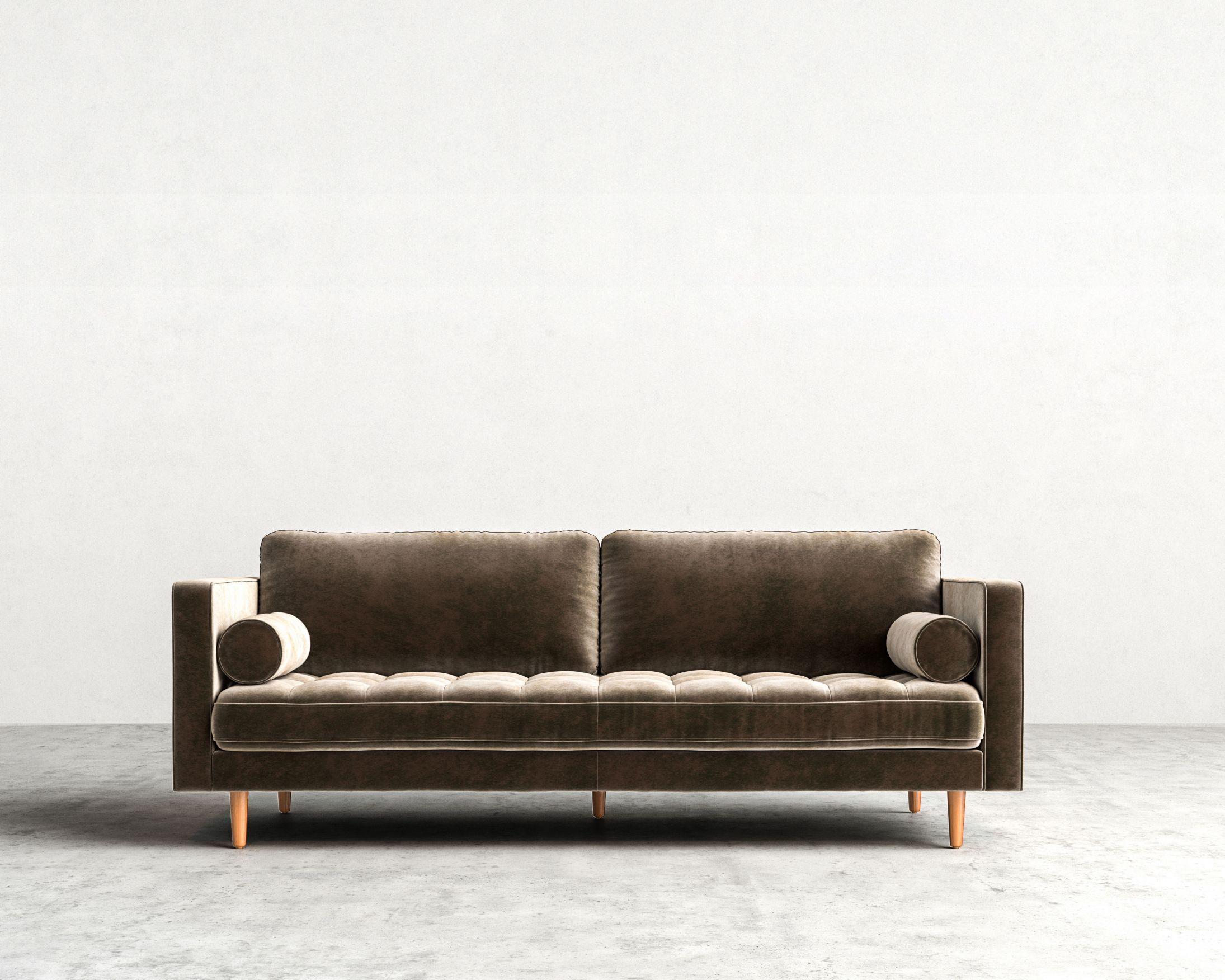 Luca Sofa | Mid Century Modern Sofa | Rove Concepts In Mid Range Sofas (Image 13 of 20)