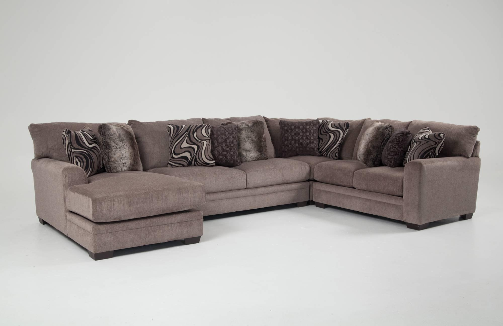 Luxe Sectional | Living Room Furniture | Bob's Discount Furniture Pertaining To Luxe Sofas (Image 9 of 20)