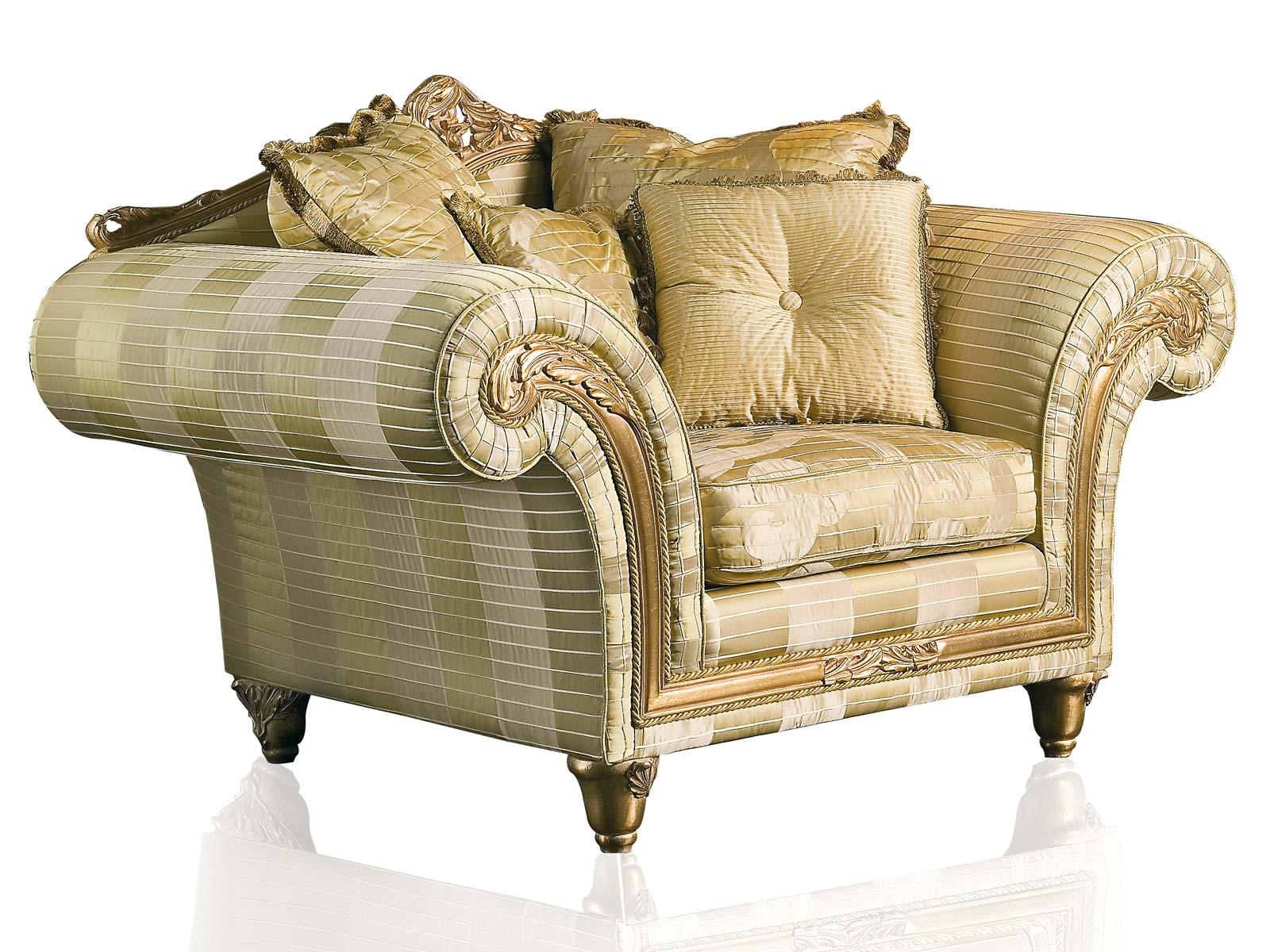 Luxury Classic Sofa And Armchairs – Imperialvimercati Media Within Sofa Arm Chairs (View 14 of 20)