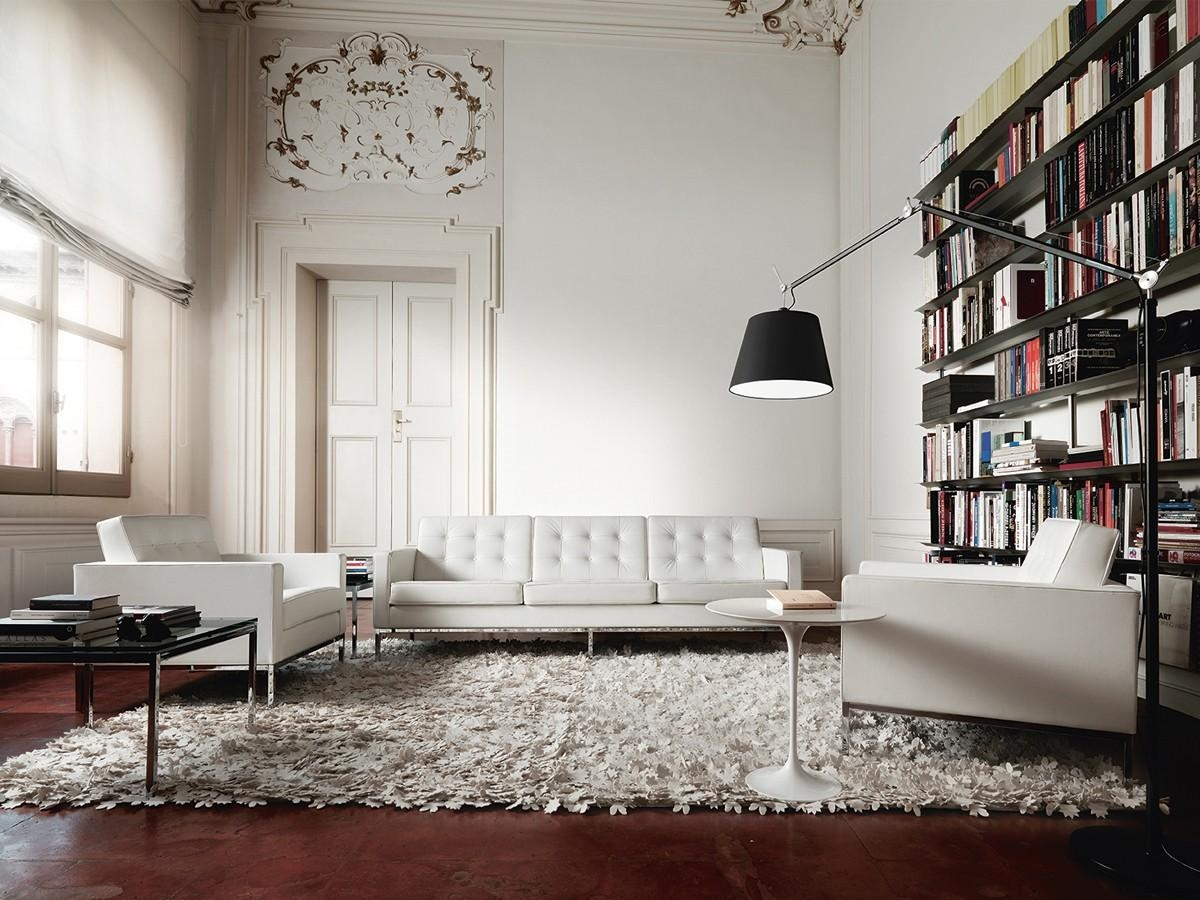 Luxury Of Florence Knoll Sofa : Florence Knoll Sofa With 3 Seater Regarding Florence Large Sofas (Image 10 of 20)