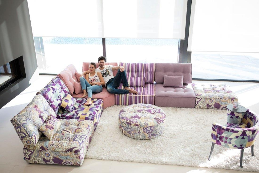 Mah Jong Style Sectional Sofa Arianne Love – Famaliving Montreal Inside Mahjong Sofas (View 17 of 20)