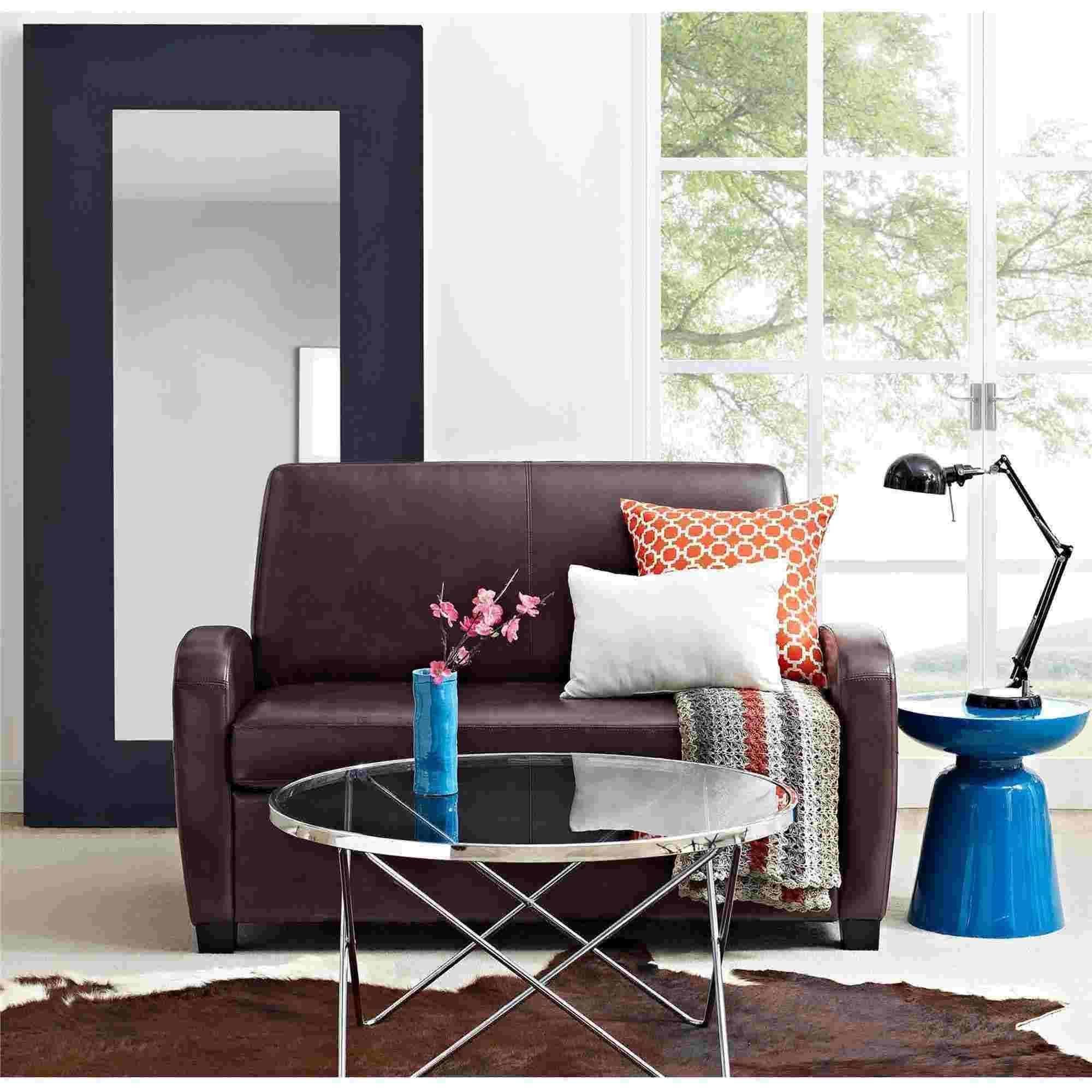 Mainstays Sofa Sleeper, Black – Walmart With Regard To Mainstays Sleeper Sofas (Image 17 of 20)