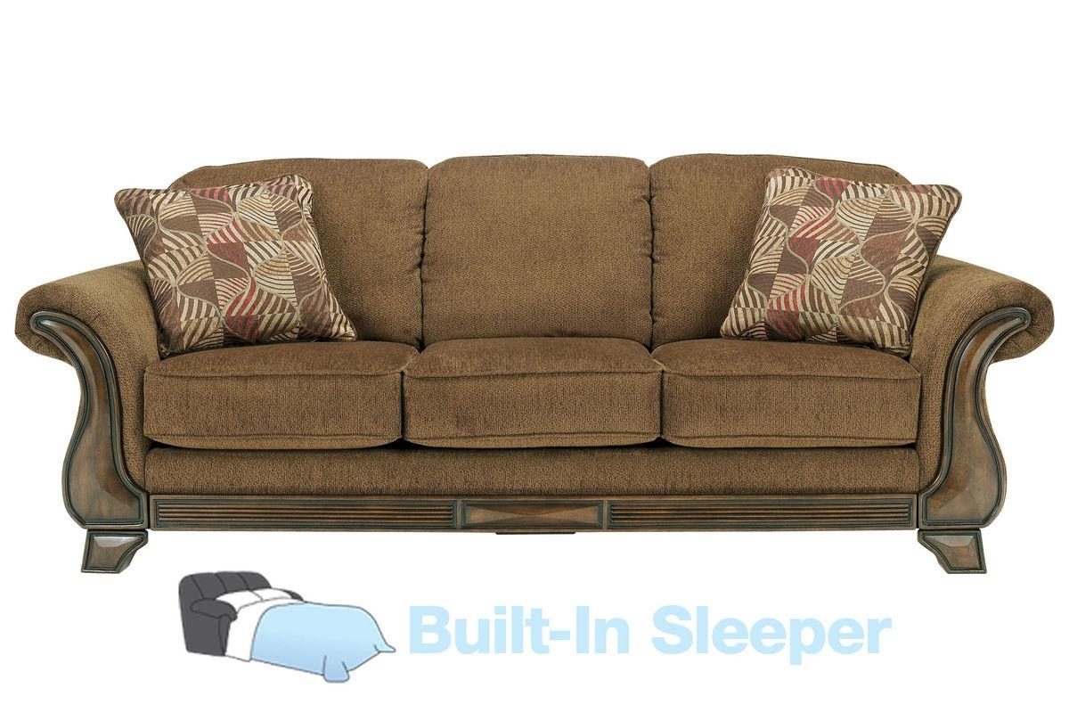Malory Chenille Queen Sleeper Sofa throughout Chenille Sleeper Sofas