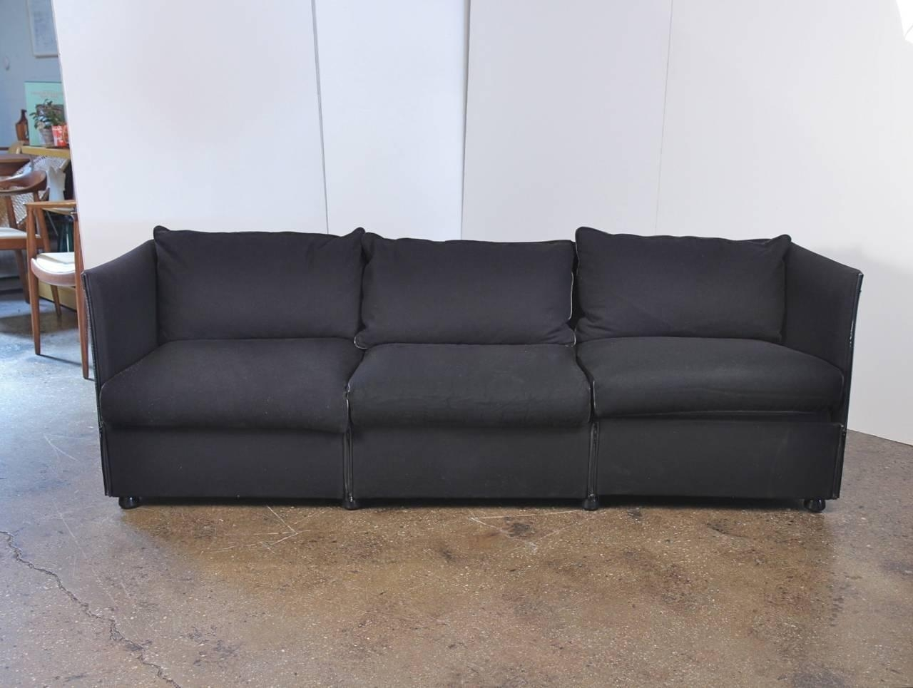 Mario Bellini Sofa For Cassina At 1Stdibs Intended For Bellini Sofas (View 12 of 20)