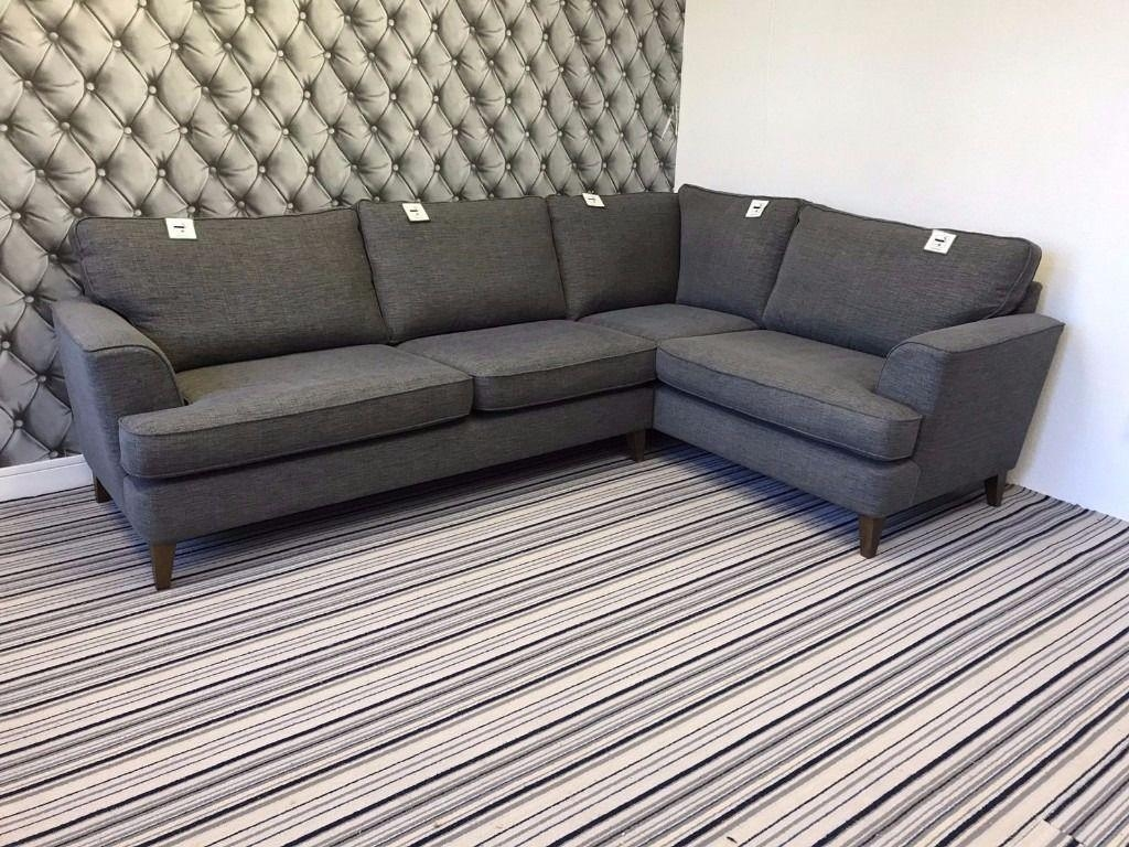 Marks And Spencer Copenhagen Corner Sofa In Baker Chenille Regarding Marks And Spencer Sofas And Chairs (View 11 of 20)