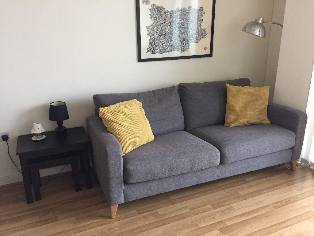 Marks & Spencer Grey Tromso Medium Sofa | In Stratford, London With Regard To Stratford Sofas (View 18 of 20)