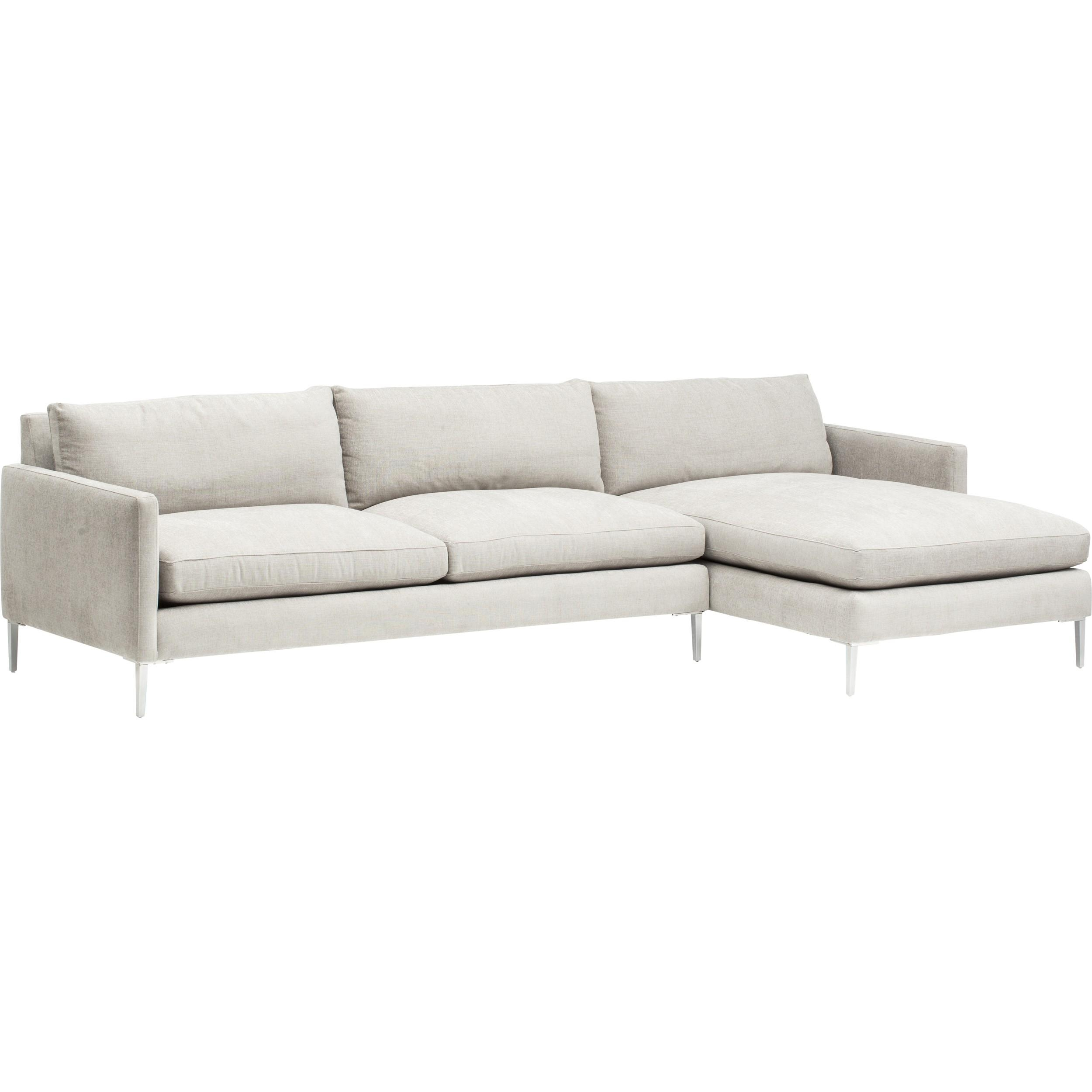 Marshall Sectional, Danville Cloud – Fabric – Sofas – Furniture With Regard To Cloud Sectional Sofas (Image 14 of 20)