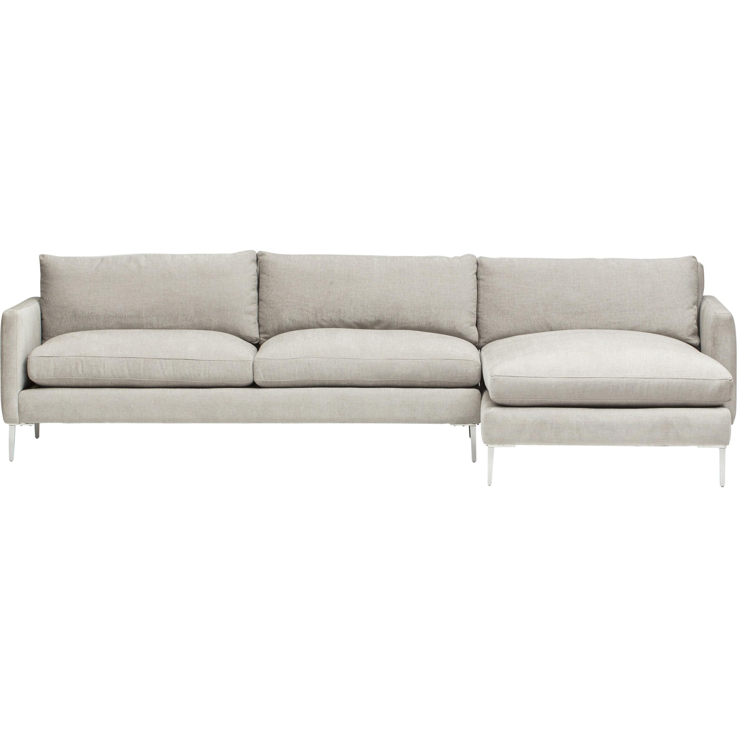 Marshall Sectional, Danville Cloud – Fabric – Sofas – Furniture Within Cloud Sectional Sofas (Image 15 of 20)