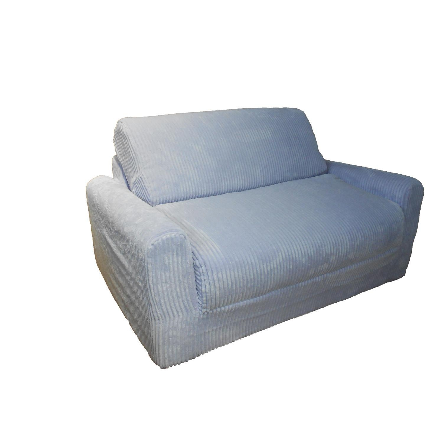 Marshmallow Furniture, Children's 2 In 1 Flip Open Foam Sofa Intended For Childrens Sofa Chairs (Image 9 of 20)
