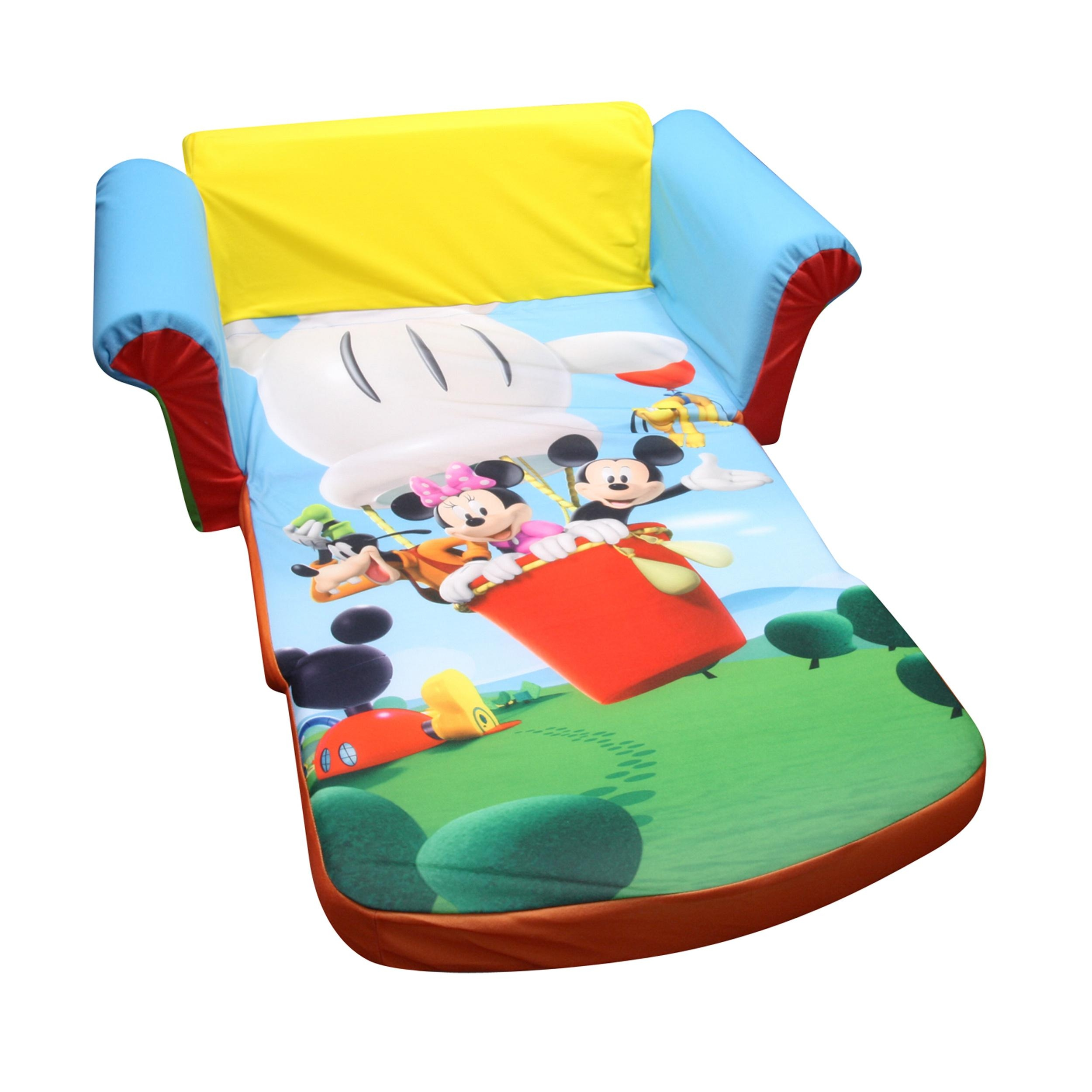 Marshmallow Furniture, Children's 2 In 1 Flip Open Foam Sofa Regarding Mickey Flip Sofas (Image 5 of 20)