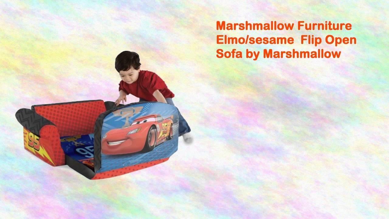 Marshmallow Furniture Elmo/sesame Flip Open Sofamarshmallow Regarding Elmo Flip Open Sofas (Image 7 of 20)