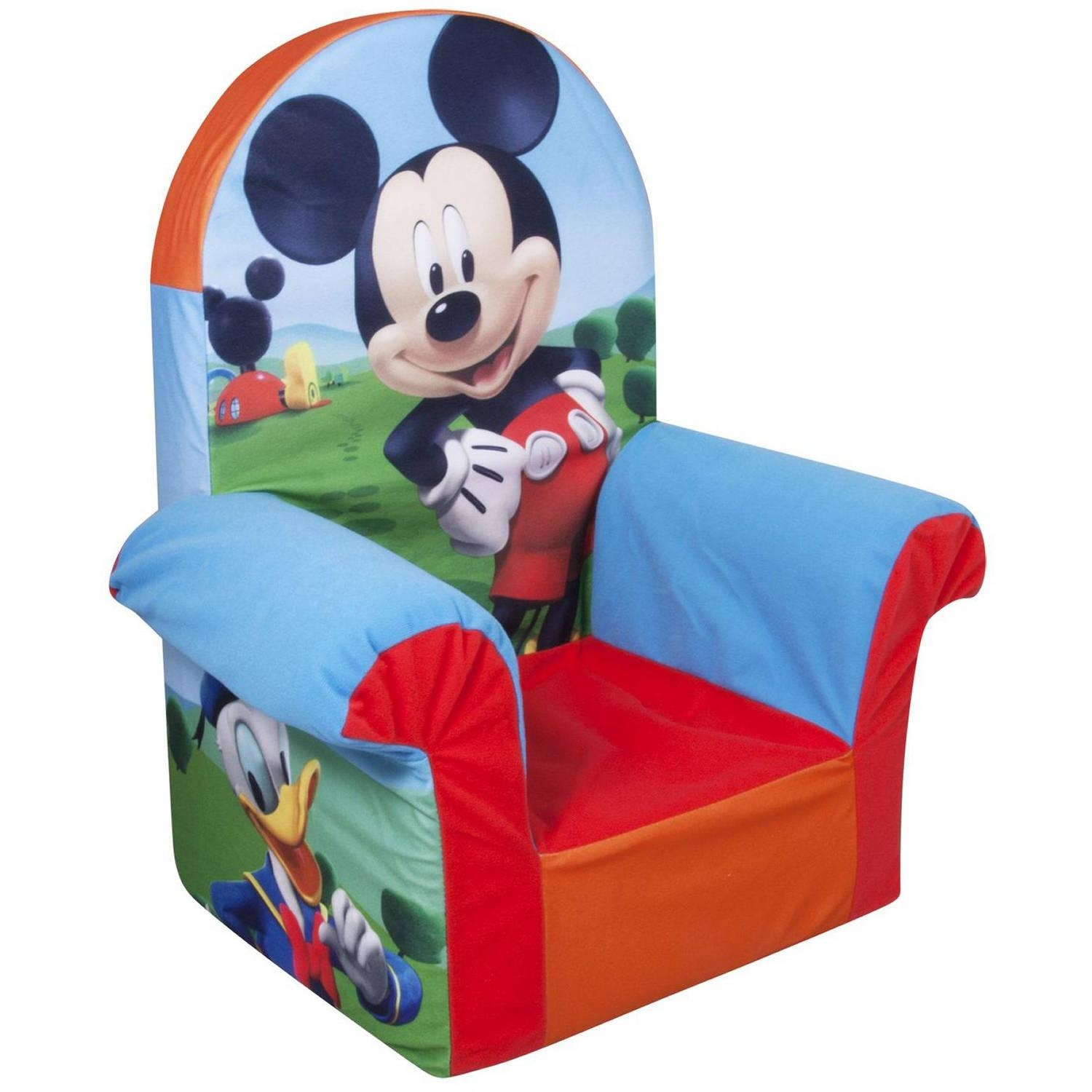 Marshmallow High Back Chair, Disney Doc Mcstuffins – Walmart For Disney Sofa Chairs (Image 14 of 20)