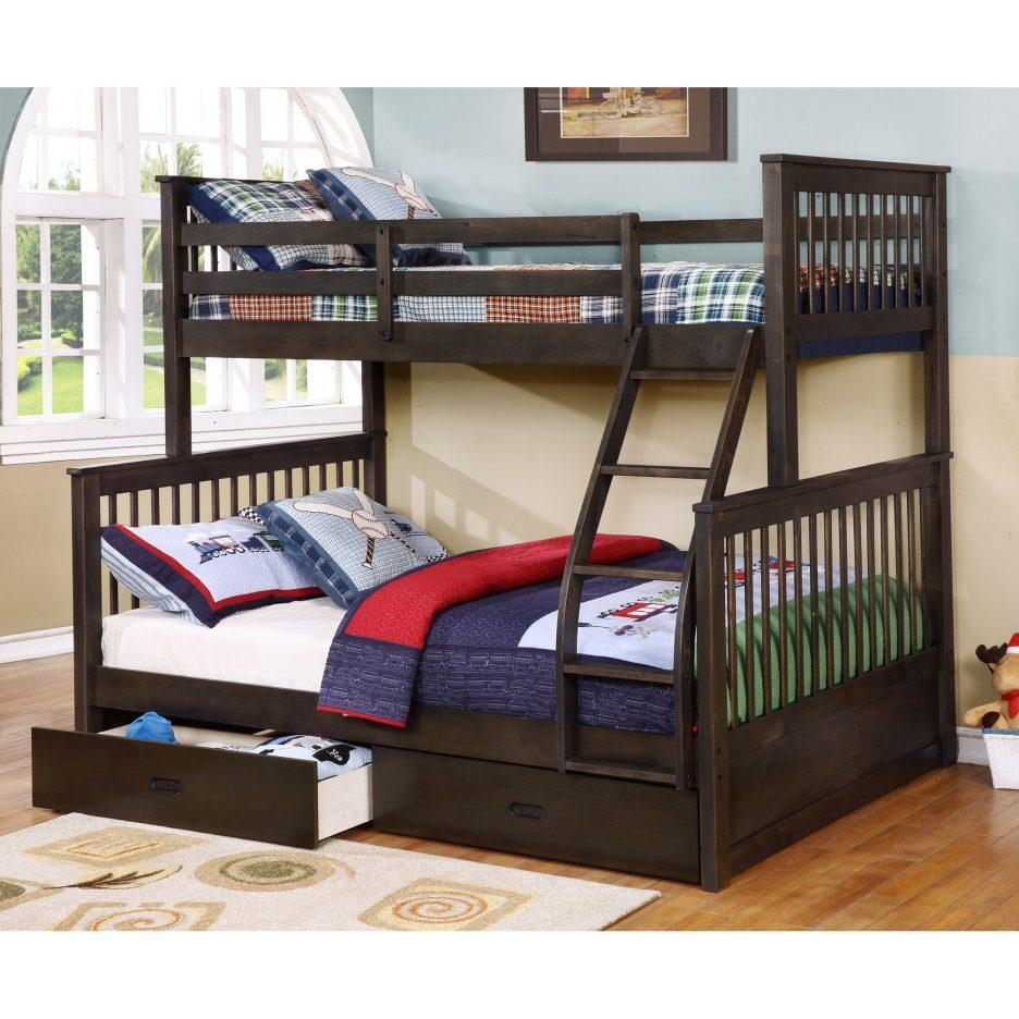 Mattresses : Twin Over Futon Bunk Bed With Mattresses Full Over Inside Kmart Bunk Bed Mattress (Image 20 of 20)