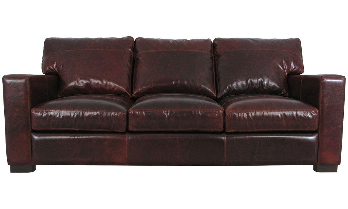 Maxton Brompton Leather Sofa | The Dump – America's Furniture Outlet Throughout Brompton Leather Sofas (Image 11 of 20)