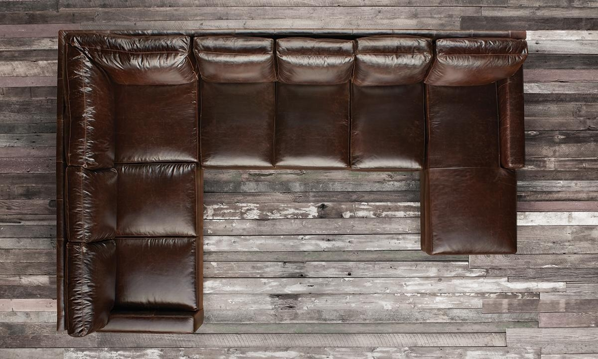 Featured Photo of Brompton Leather Sectional Sofas