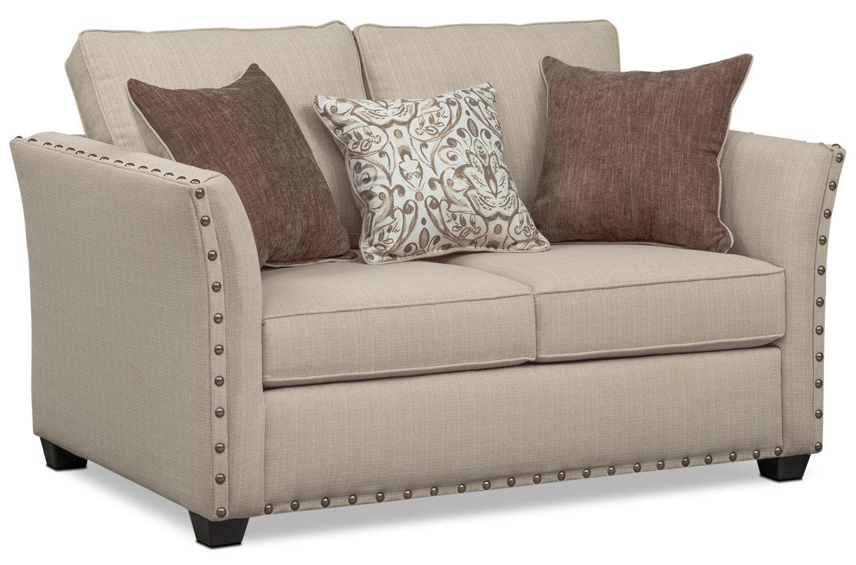 Mckenna Queen Memory Foam Sleeper Sofa, Loveseat, And Chair Set Regarding Sofa And Chair Set (Image 11 of 20)