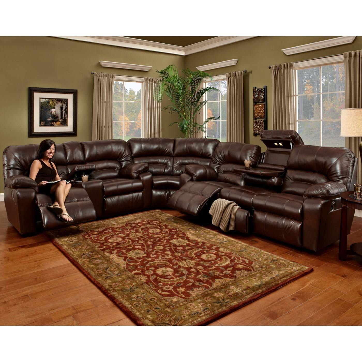 Cheap Brown Leather Living Room Sets