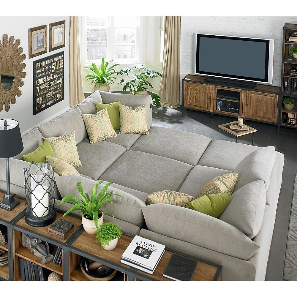 Media Room Sectional Sofas Style Home Design Modern With Media Pertaining To Media Room Sectional Sofas (View 4 of 20)