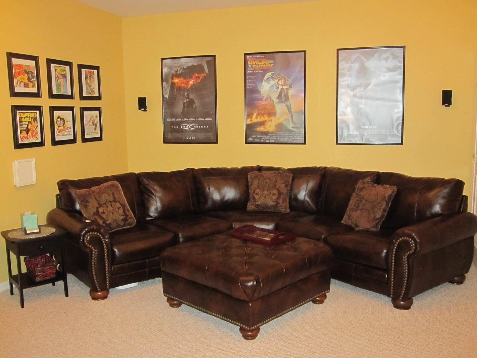 Media Room Sofa – Home Decoration Ideas Pertaining To Media Room Sectional (View 14 of 20)