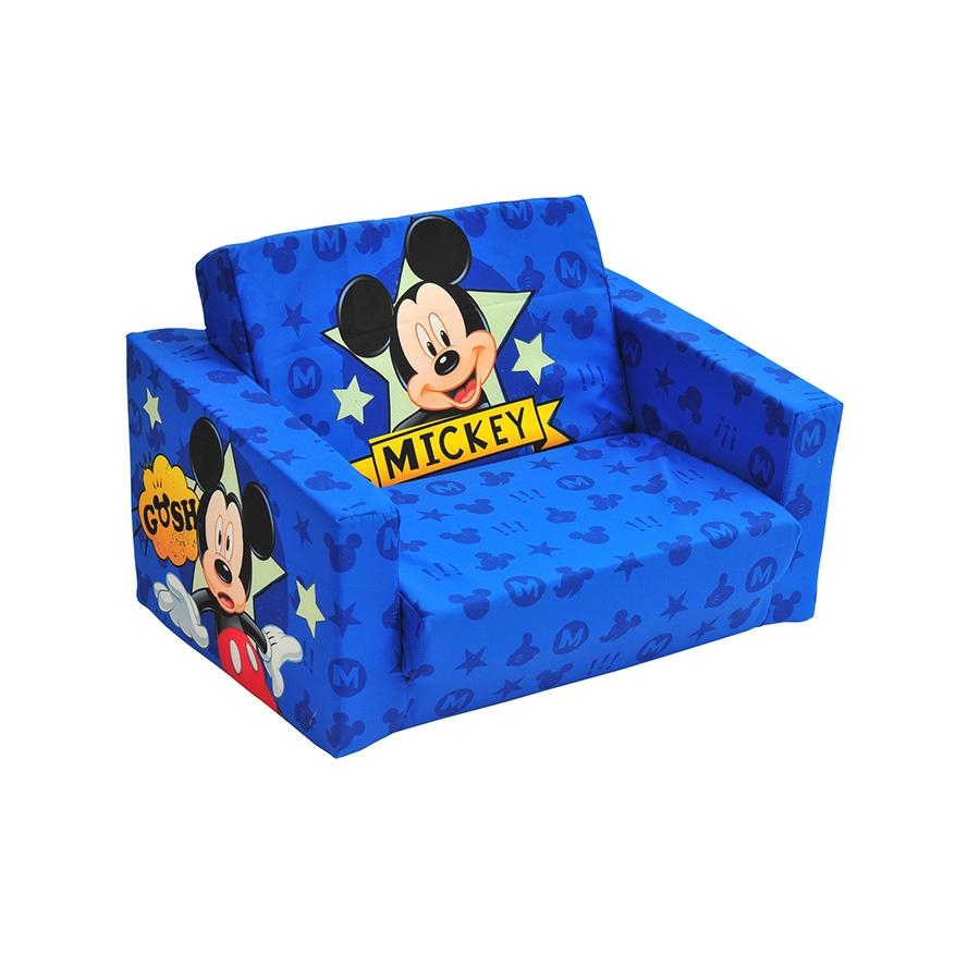 Mickey Mouse Sofa With Ideas Picture 3209 | Kengire With Regard To Mickey Flip Sofas (View 3 of 20)