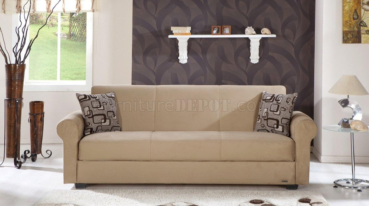 Microfiber Sleeper Sofa | Design Your Life With Regard To Microsuede Sleeper Sofas (Image 13 of 20)