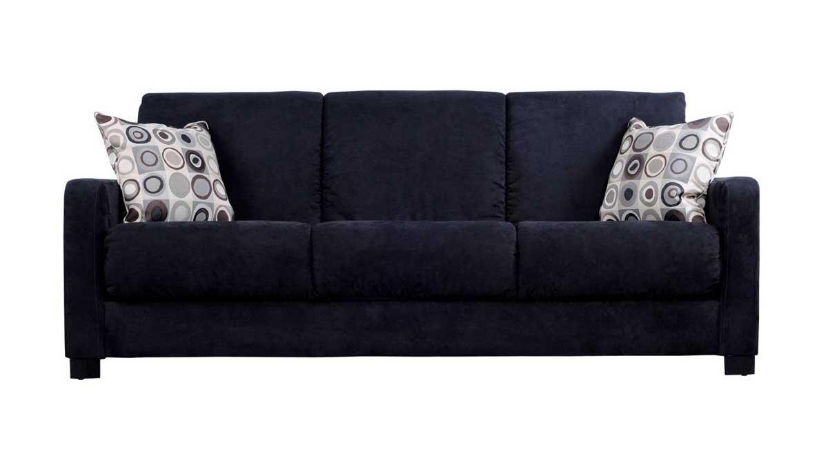 Microfiber Sleeper Sofa – Interior Design With Regard To Microsuede Sleeper Sofas (Image 12 of 20)