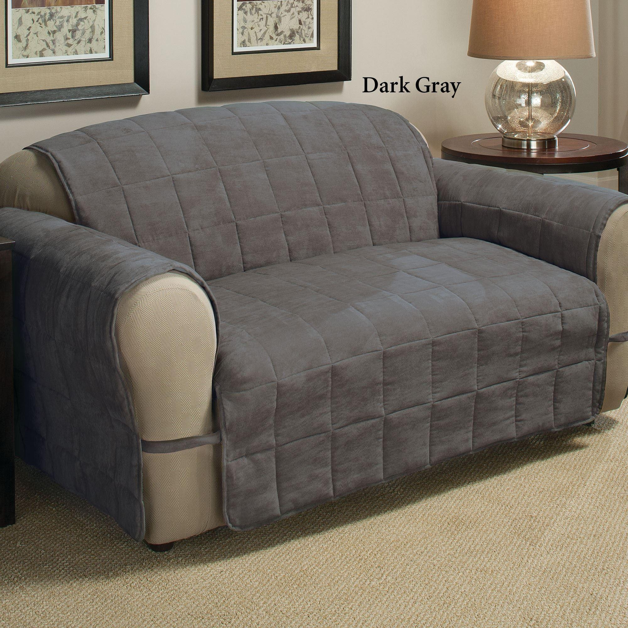 Microfiber Sofa Cover | Tehranmix Decoration Throughout Pet Proof Sofa Covers (Image 9 of 20)