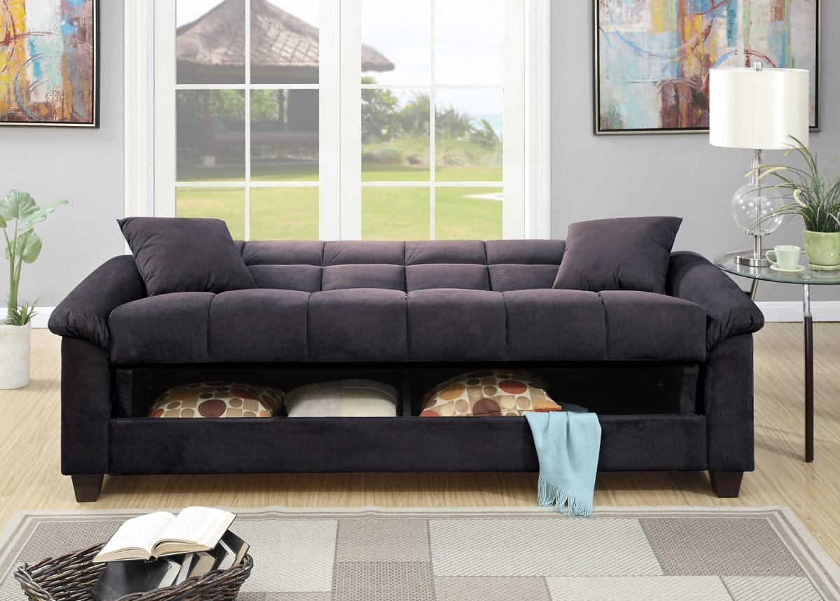 Featured Photo of Microsuede Sofa Beds