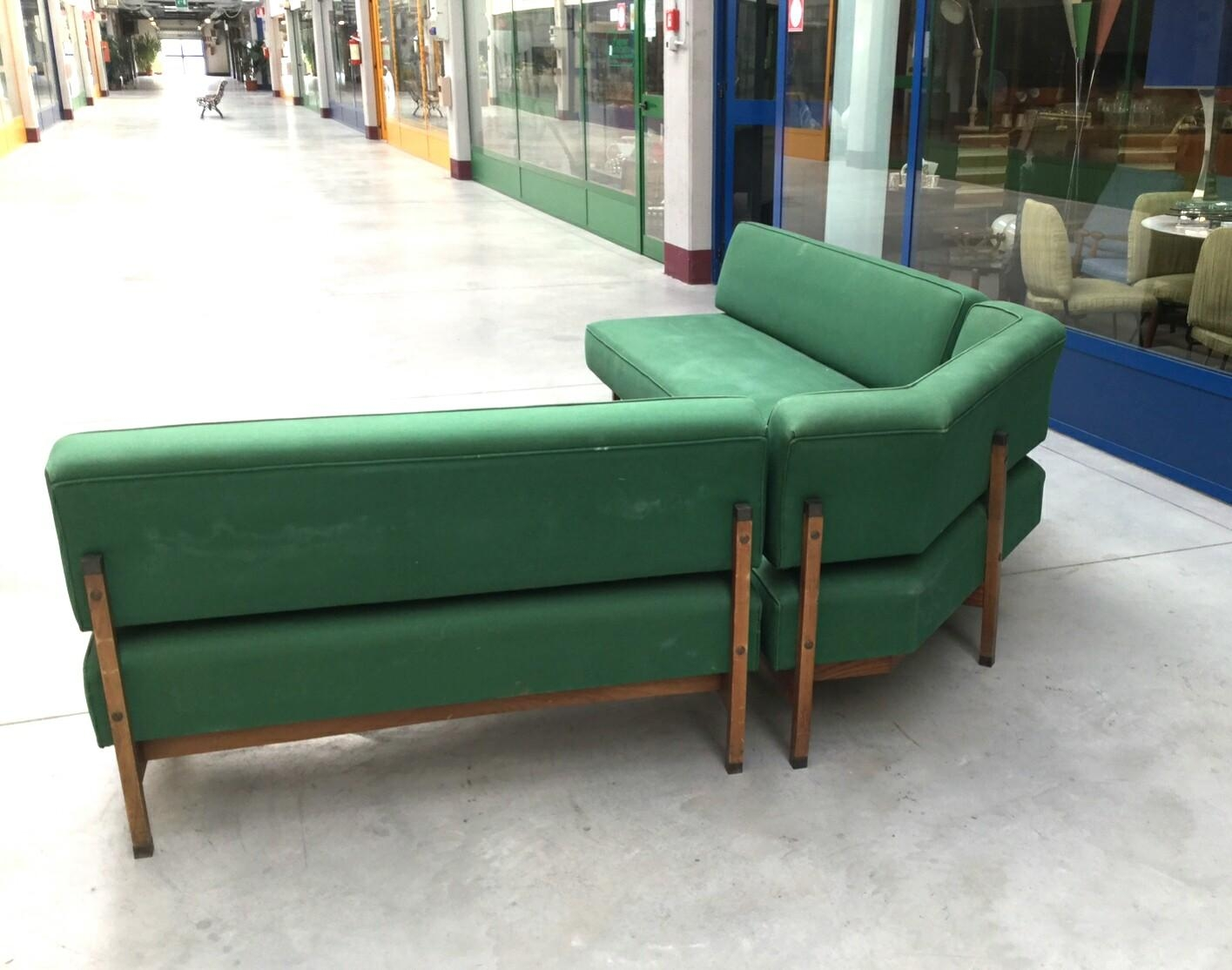 Mid Century Italian Green Modular Corner Sofa, 1960S For Sale At For Modular Corner Sofas (View 19 of 20)
