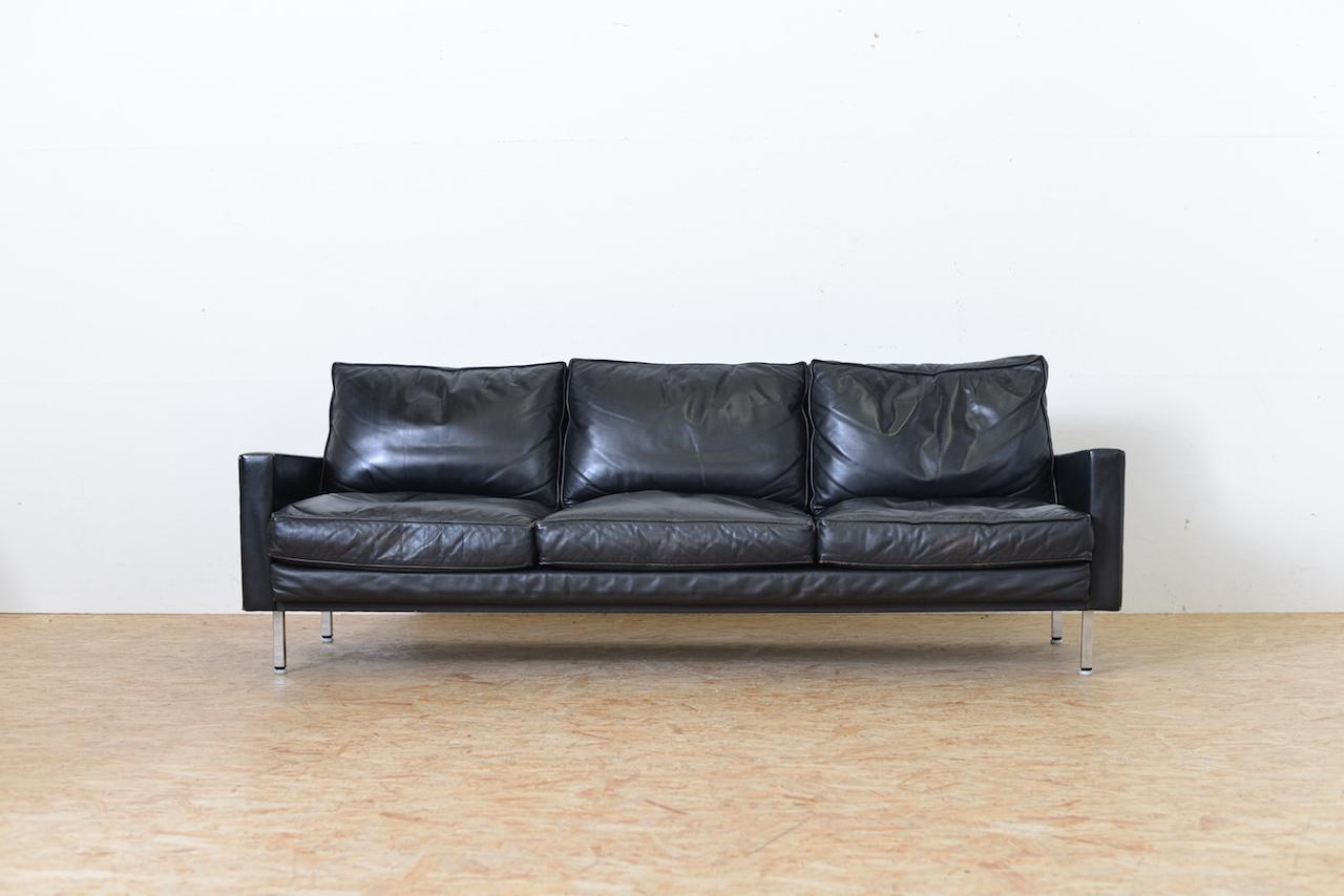 Mid Century Loose Cushion 3 Seater Sofageorge Nelson With Regard To George Nelson Sofas (View 8 of 20)