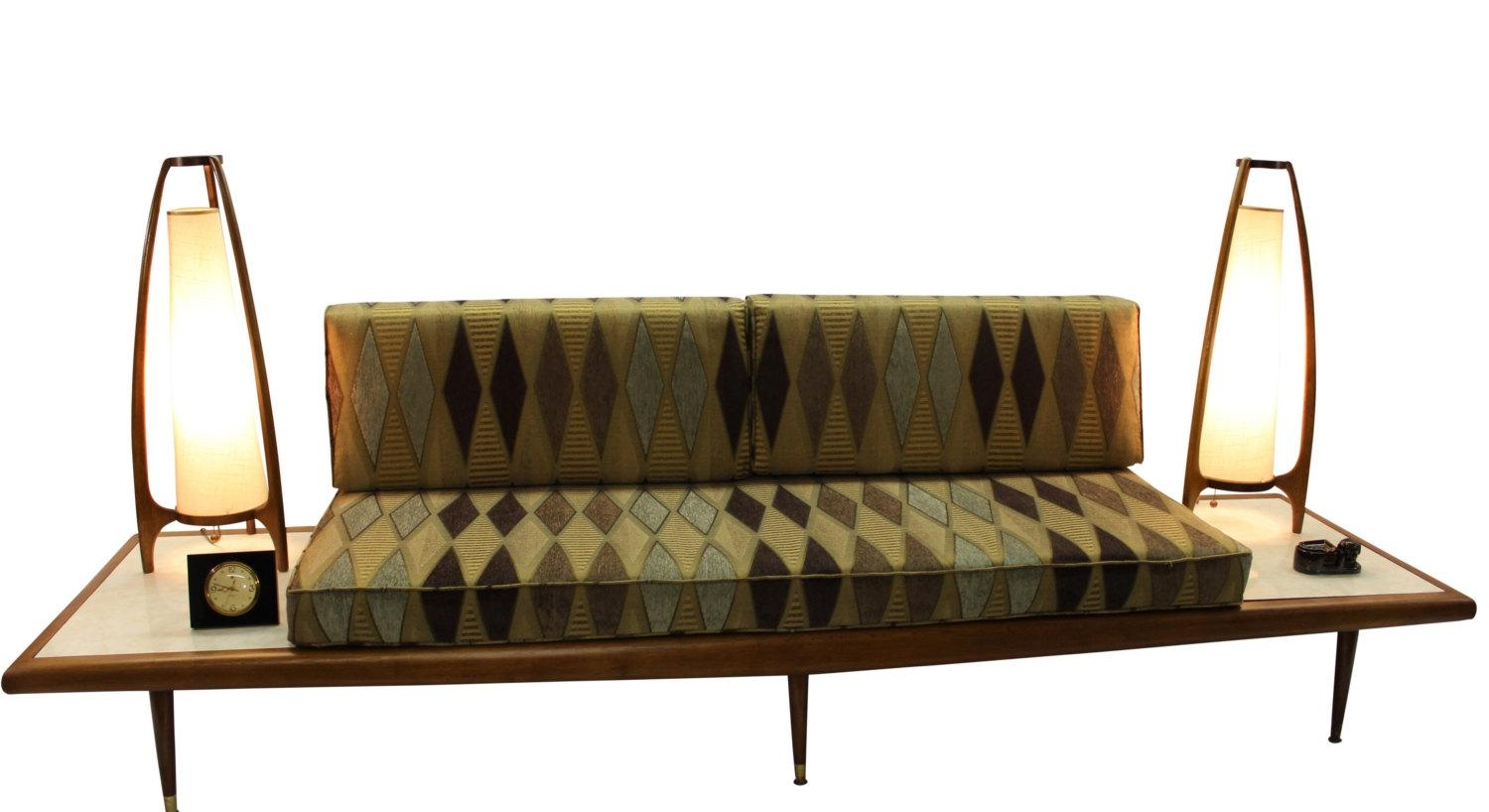 Mid Century Modern Danish Retro Vintage Upholstered Inside Modern Danish Sofas (View 18 of 20)