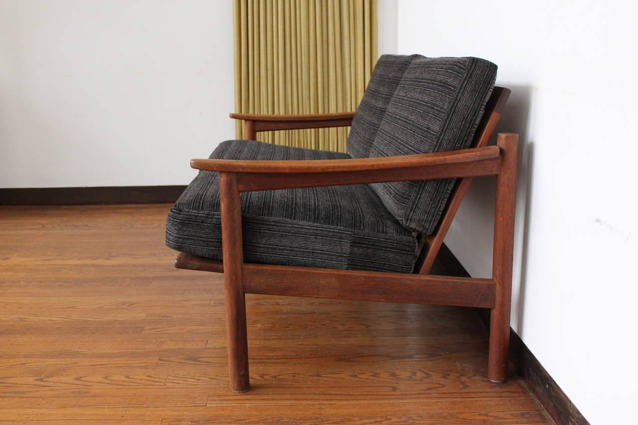 Mid-Century Modern Danish Teak Loveseat Sofa At 1Stdibs regarding Modern Danish Sofas