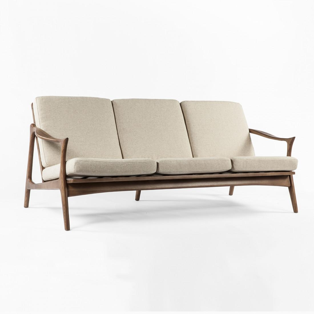 Mid Century Modern Reproduction Model 711 Danish Sofa – In Modern Danish Sofas (View 14 of 20)