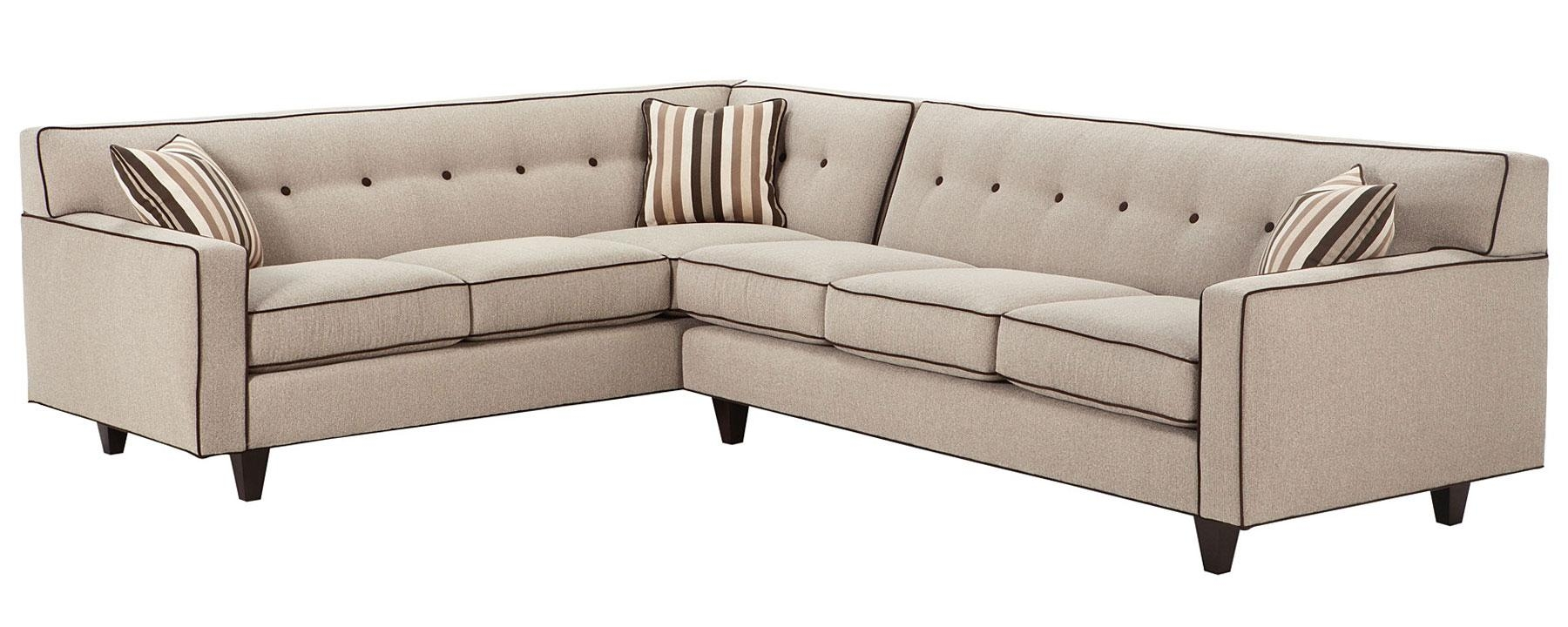 Mid Century Modern Sectional Sofa W/ Button Back | Club Furniture Intended For Mid Century Modern Sectional (Image 13 of 20)