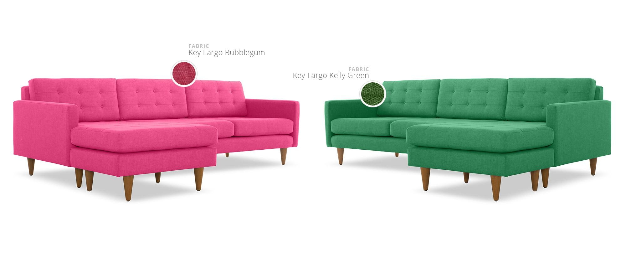 Mid Century Modern Sectional Sofas | Joybird In Mid Century Modern Leather Sectional (View 12 of 20)