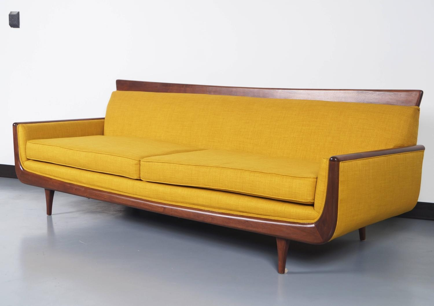 Mid Century Sofa Modern Gondola 2 New Sectional Sofas Made In The Intended For Danish Modern Sofas (Image 12 of 20)