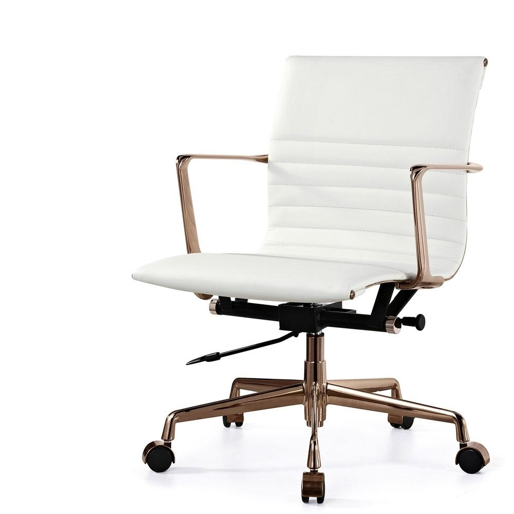 Minimalist Office Chair Sofa Modern White Office Chairs Gmotrilogy In Sofa Desk Chairs (View 6 of 20)