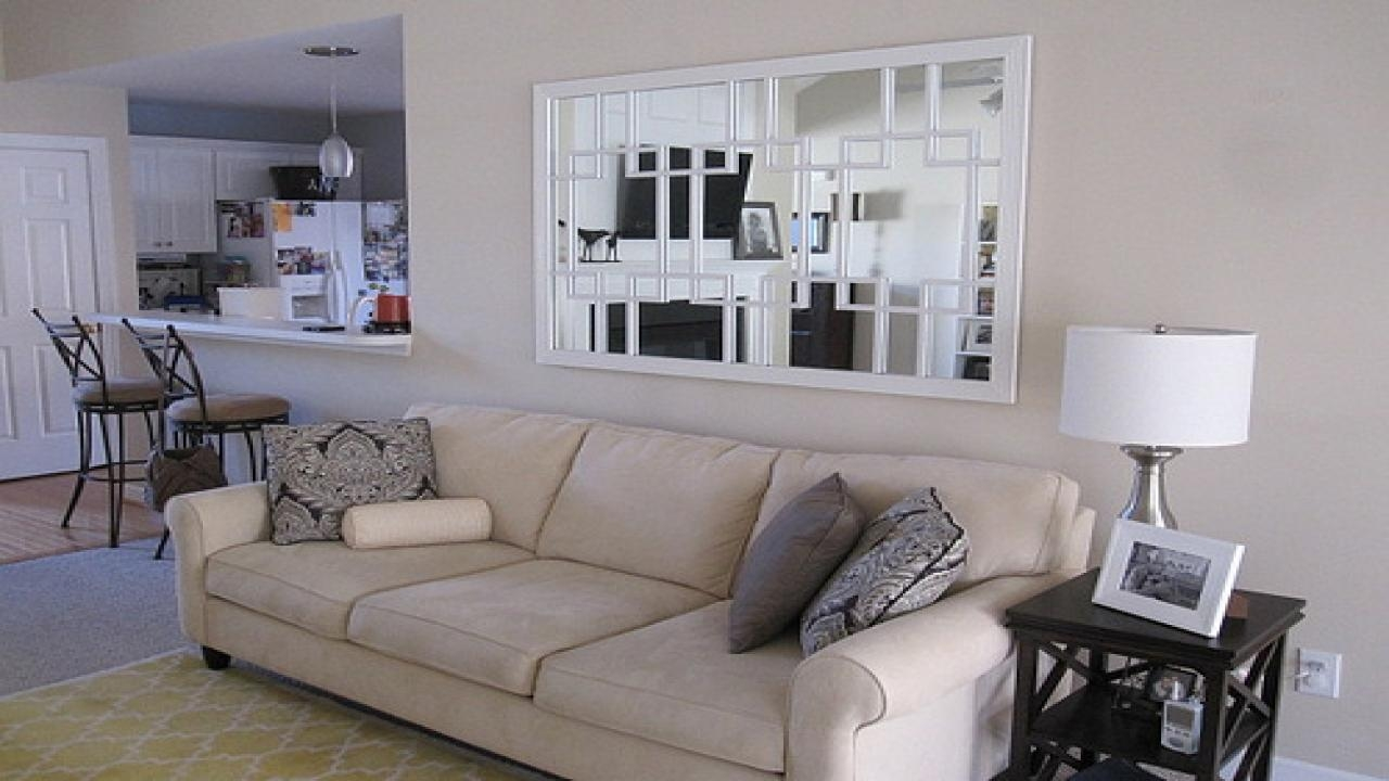 Mirror Above Sofa With Inspiration Picture 39452 | Kengire Inside Mirror Above Sofas (Image 18 of 20)