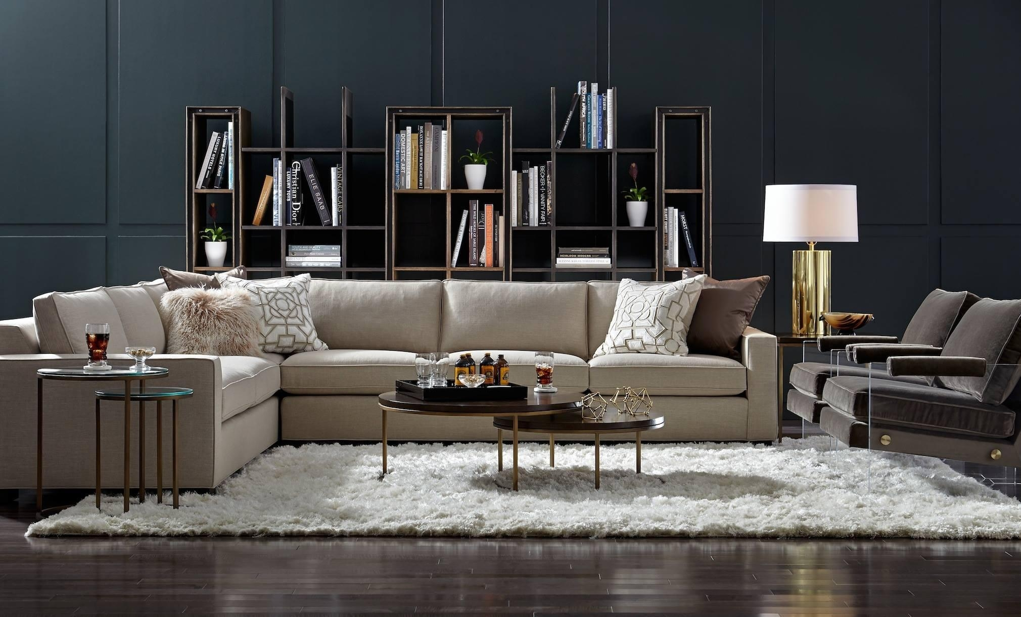 Mitchell Gold + Bob Williams Fall Collection: Masters Of Modern For Gold Sectional Sofa (View 5 of 15)