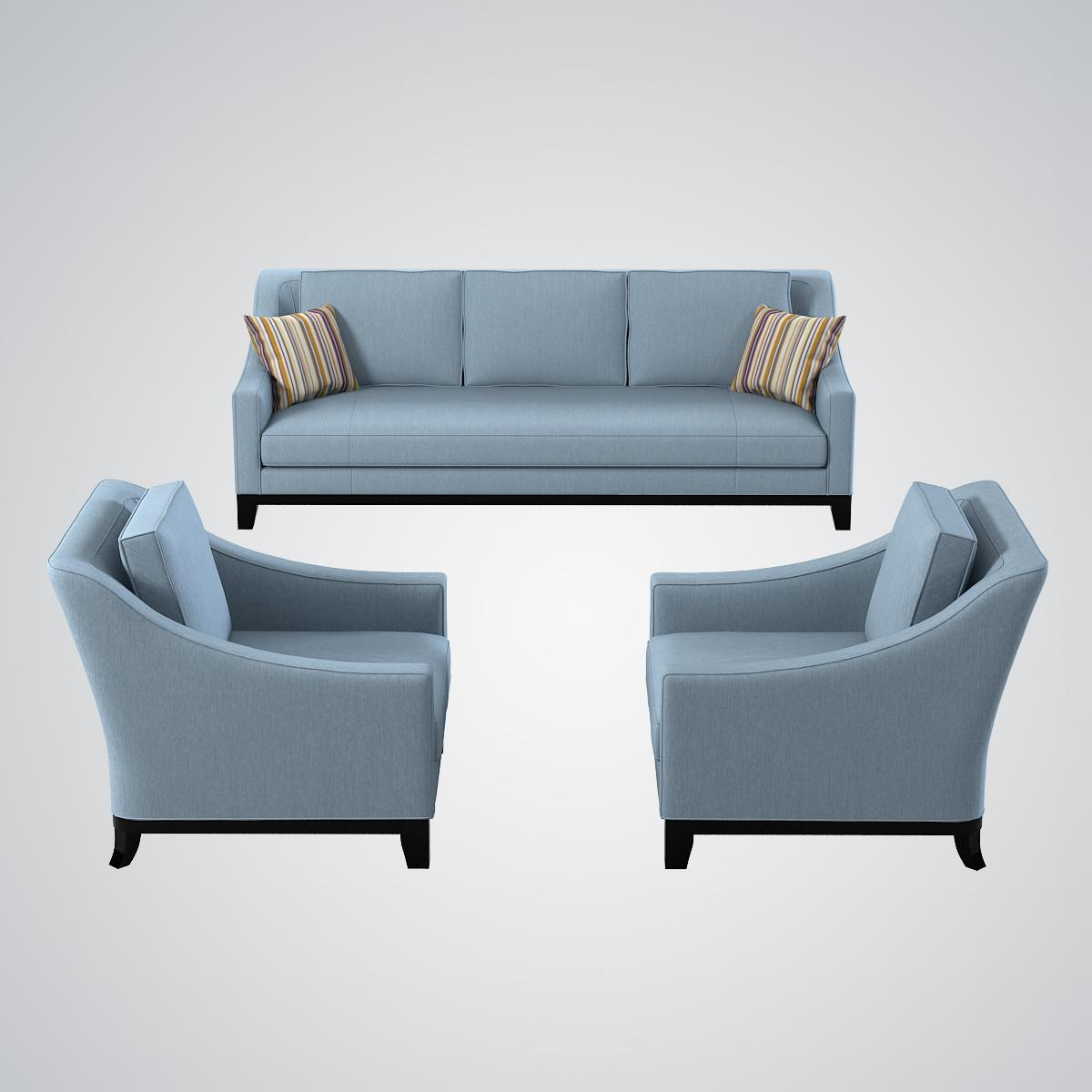 Model Baker Neue Sofa Chair Throughout Sofa And Chair Set (Image 13 of 20)