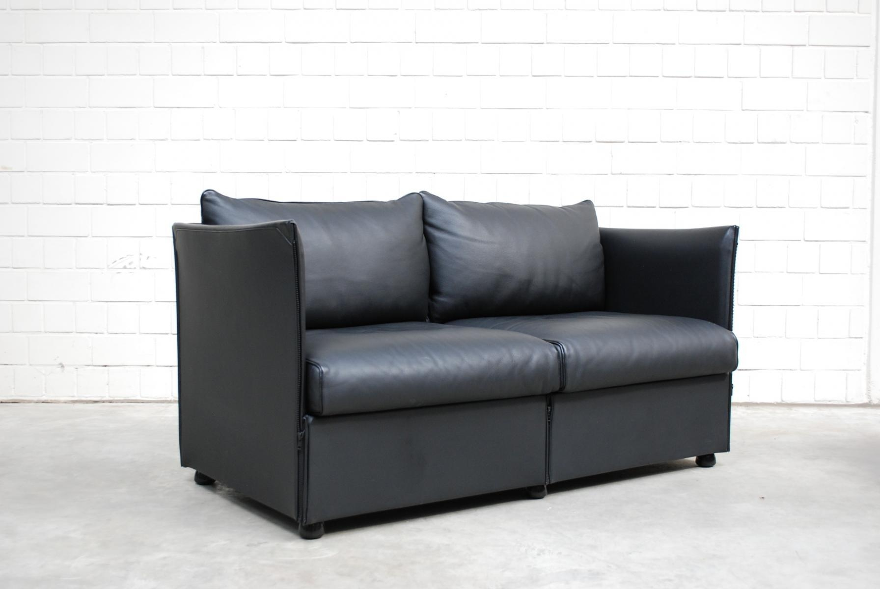 Model Landeau Leather Sofamario Bellini For Cassina, 1976 For Pertaining To Bellini Couches (Image 13 of 20)