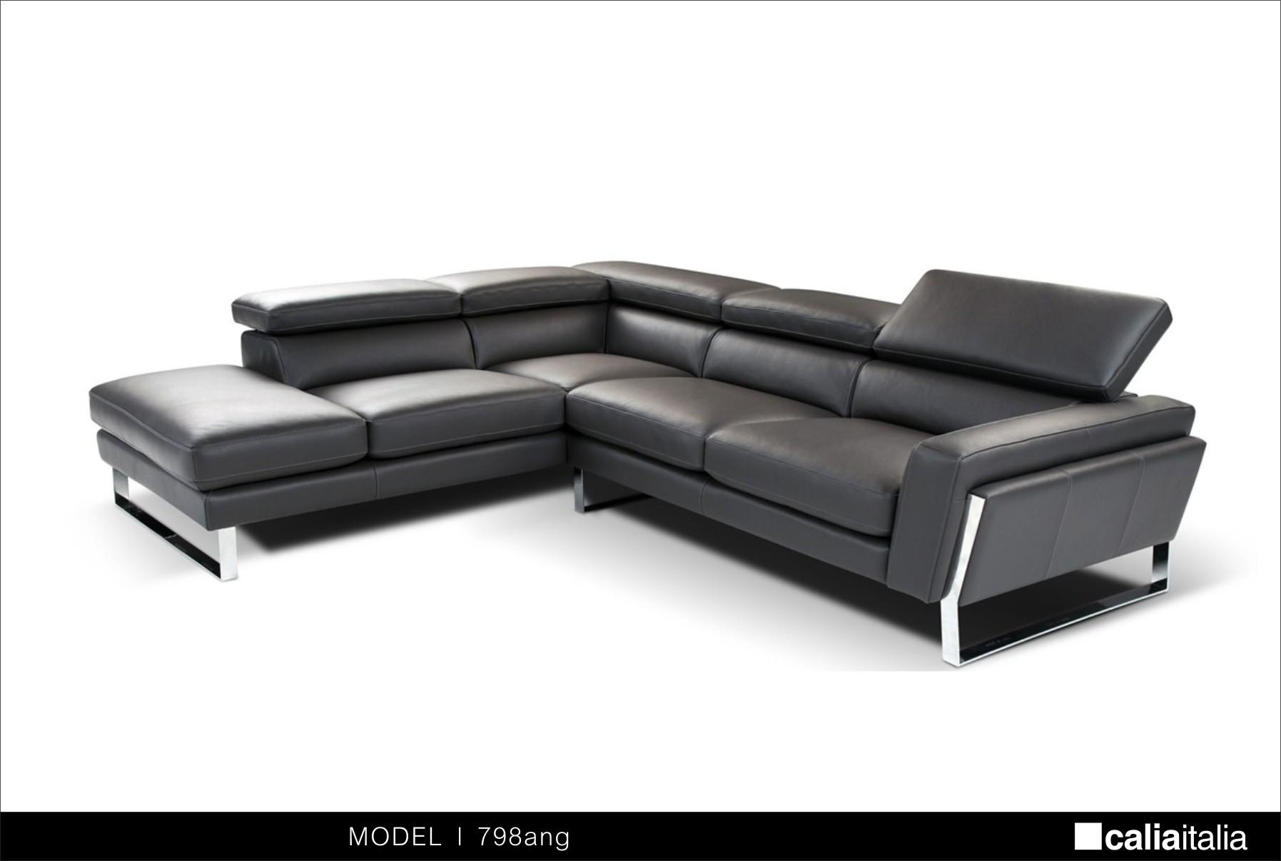 Modern Black Leather Sectional Sofa Trends – S3Net – Sectional Pertaining To Black Modern Sectional Sofas (Image 14 of 20)