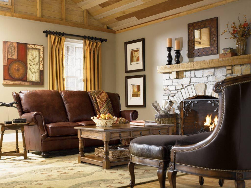 Modern Country Living Room Wooden Shelves Multicolors Cushions Pertaining To Cream Colored Sofa (Image 11 of 20)