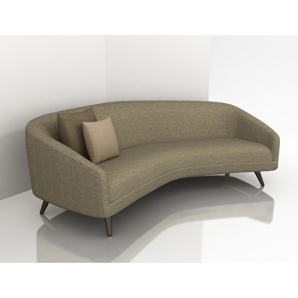 Modern Curved Sofa | Sofa Gallery | Kengire With Regard To Small Modern Sofas (Image 9 of 20)