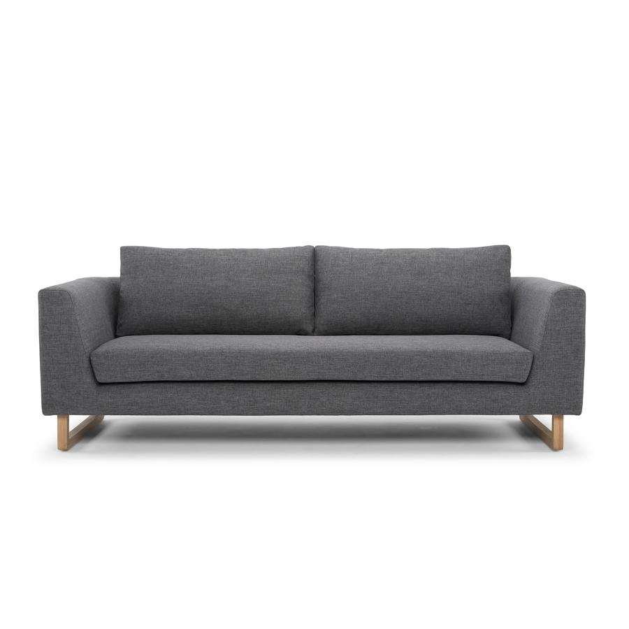 Modern Designer 3 Seater Sofa – Steel Pertaining To Modern 3 Seater Sofas (Image 17 of 20)