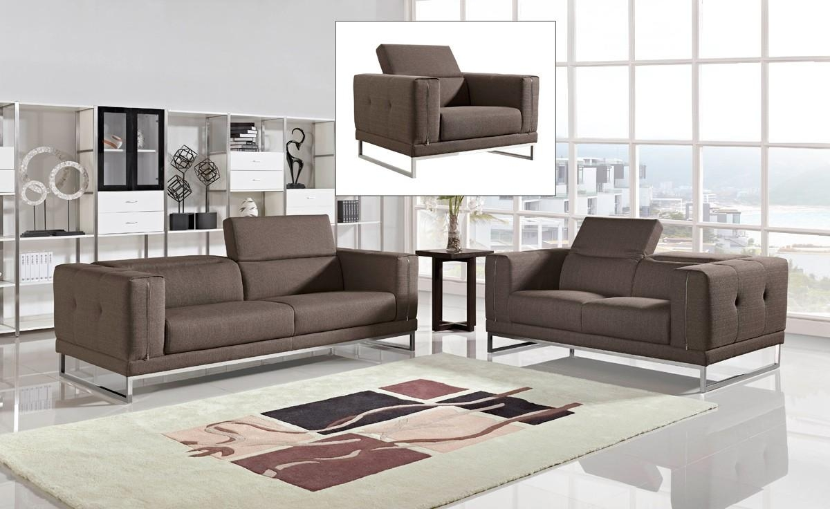 Modern Fabric Sofas And Fabric Couches Within Contemporary Fabric Sofas (Image 14 of 20)