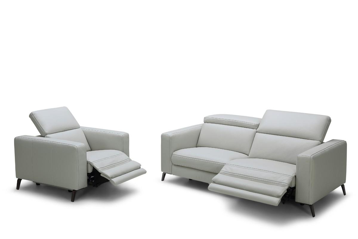 Modern Leather Sofas – Contemporary Couches With Regard To Modern Reclining Leather Sofas (Image 13 of 20)
